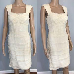 LAUREN Ralph Lauren Off White Lace Sequin Dress